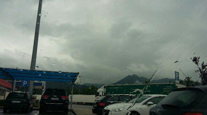 Ancora pioggia!