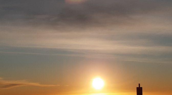 Hyperlapse alba sul mare di Celle Ligure