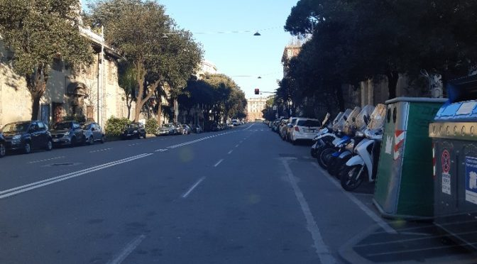 Coronavirus – Genova domenica mattina 15 Marzo