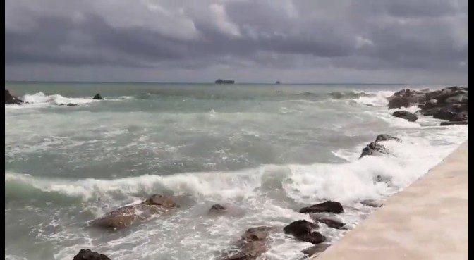 Il mare oggi