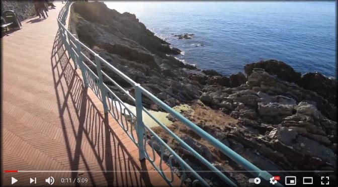 Bike tour sul mare di Genova Nervi