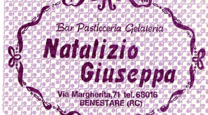 La carta da rifascio del bar della nonna